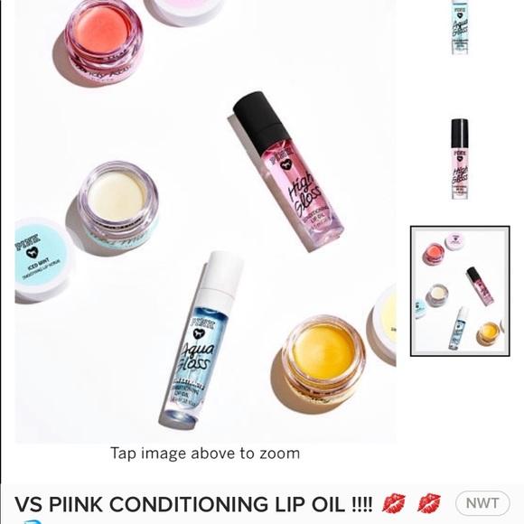 d32c2c0766231 2-Conditioning Lip Oils !! Victoria's Secret pink NWT